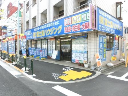 【富士見ハウジング】東京都中野区本町5-40-18 サンハイツ中野本町1階